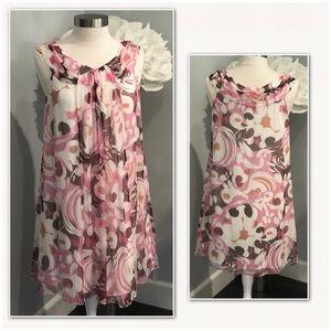 MAX STUDIO Special Edition Silk Dress EUC